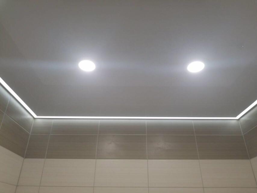 Контурная подсветка потолка